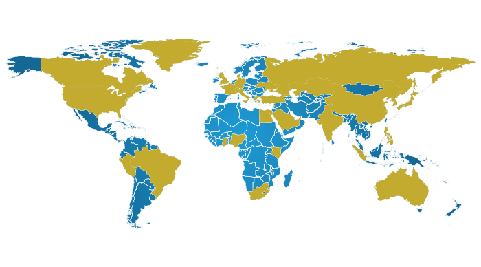 Countries in which we operate cain global partners although cain global partners can provide services in virtually any country not barred by us law we consider the countries depicted on the map below to gumiabroncs Image collections